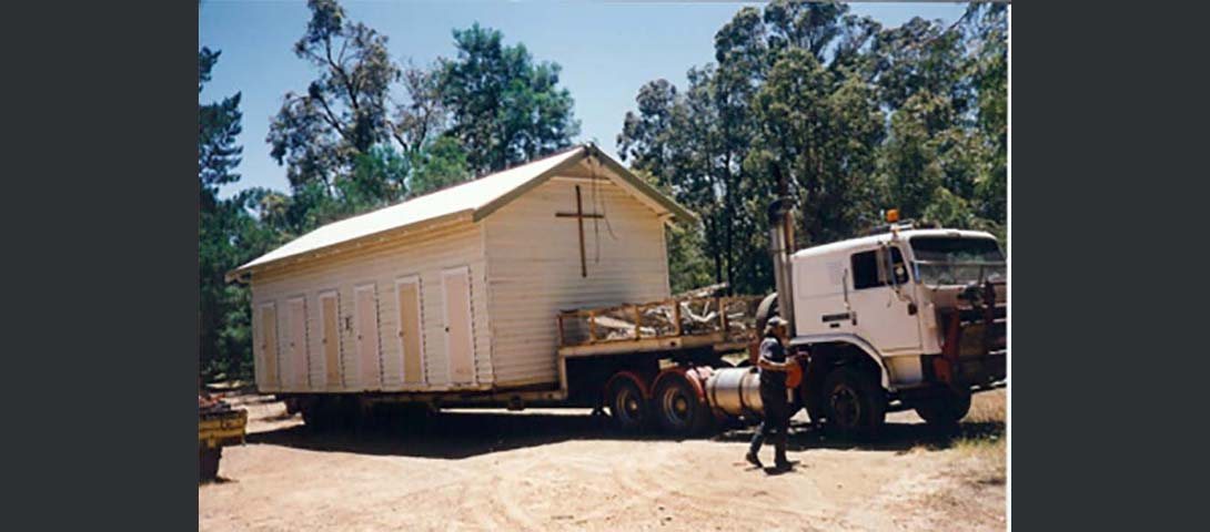 Moving the Solitary Cell convert Chapel