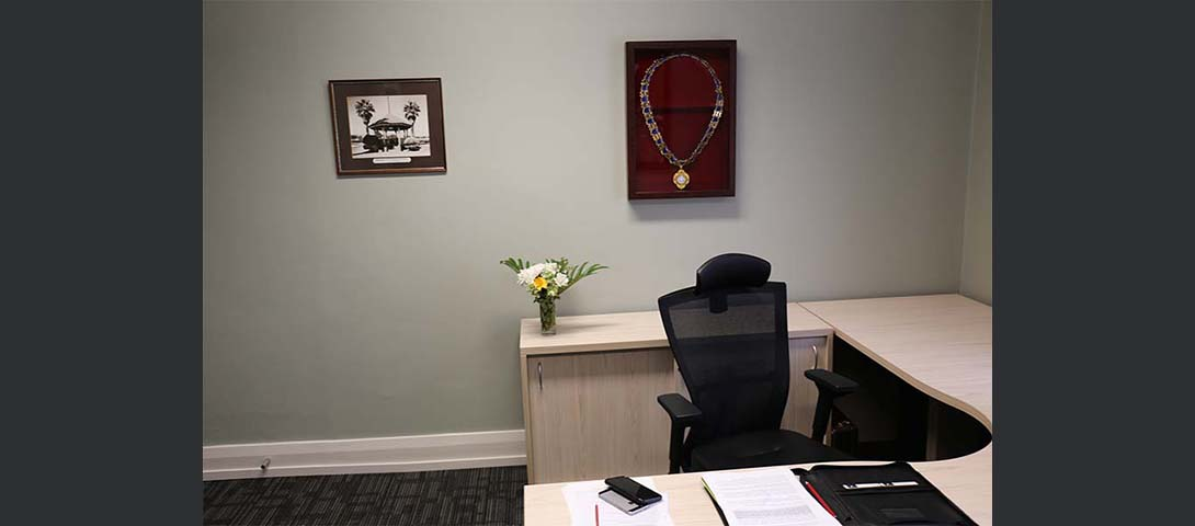 Refurbished Mayors Office