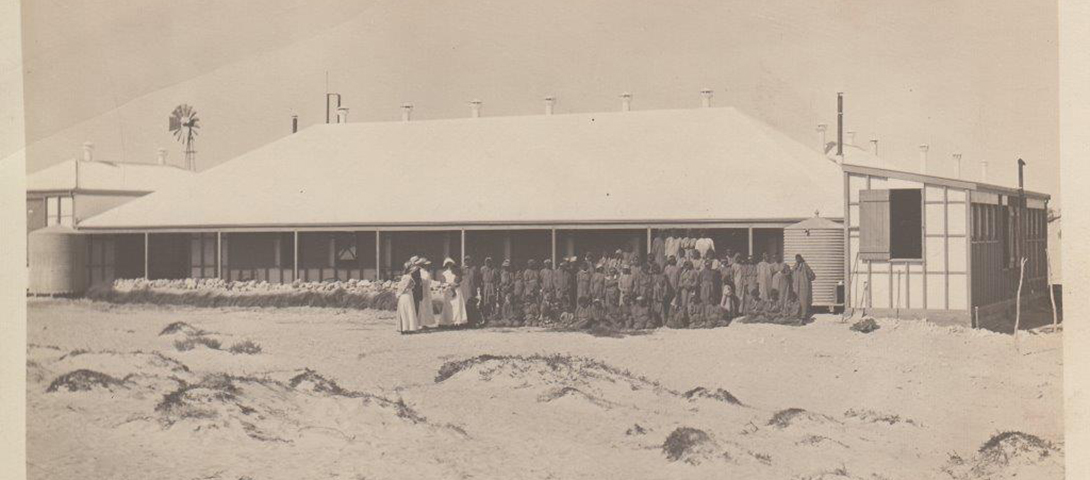 Dorre Island Lock Hospital. Battye Library c1911.