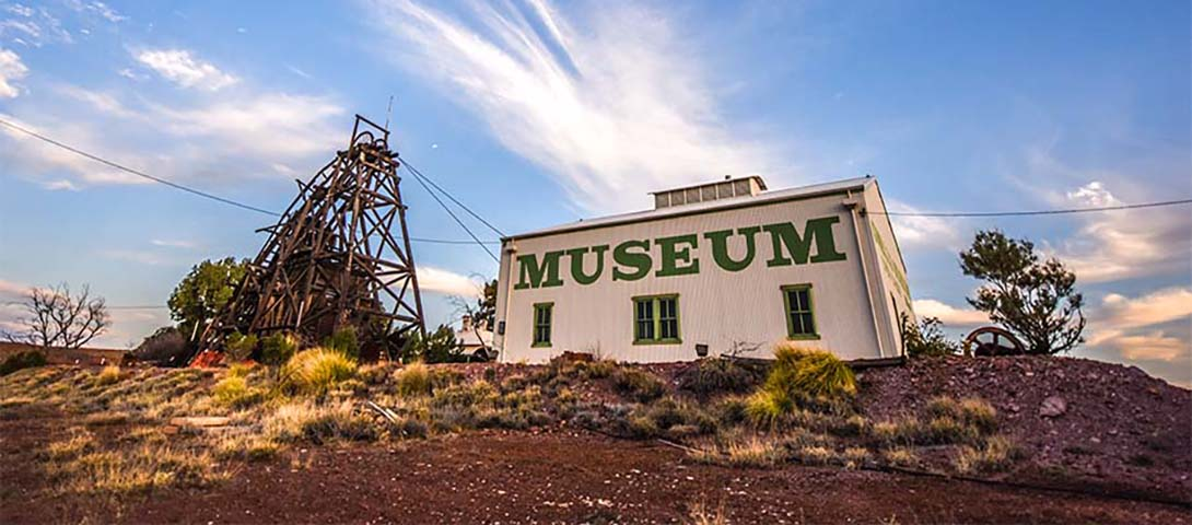 Gwailia Mmseum and headframe