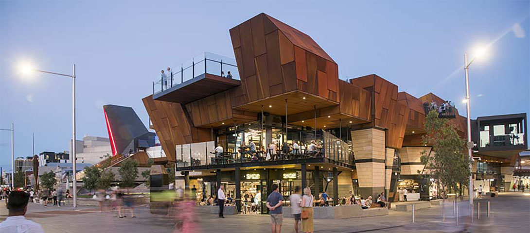 Yagan Square - Architecture featuring WA materials