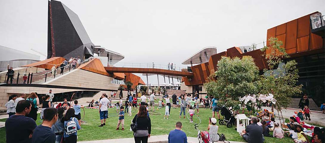 Event space at Yagan Square