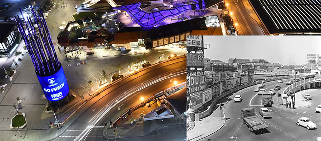 Legacy of advertising - Horseshoe Bridge 1966 and 2018