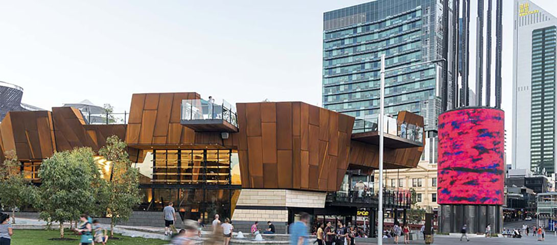 Yagan Square within Horseshoe Bridge